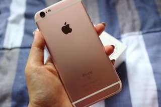 iPhone 6s Rosegold 128 GB