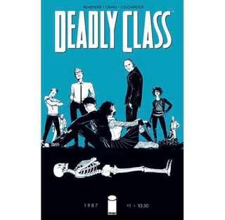 DEADLY CLASS #1 (2014) First issue! SYFY TV series