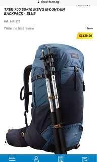 TREK 700 FORCLAZ BACKPACK - BLUE
