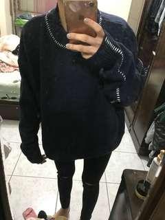 毛衣 藍色