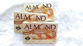 Almond White Veil Chocolate box
