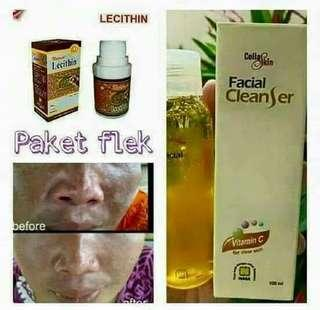 Facial cleanser.lecith