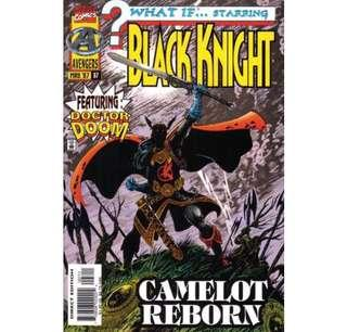 """WHAT IF...? Starring Black Knight #97 (1997) """"Camelot Reborn"""""""