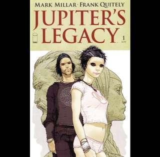 JUPITER'S LEGACY #1 (2013) 1st issue! Netflix TV Series soon