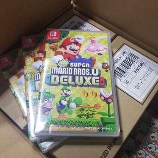 100%全新 旺角/銅鑼灣門市現貨 Switch 超級瑪利歐兄弟U Super Mario Bros.U Deluxe  $365