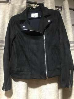 Old Navy Black Suede Jacket