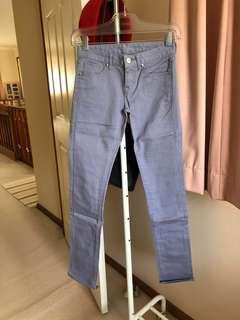 BRAND NEW Uniqlo Light Purple Skinny Jeans