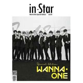 (Pre-Order) Wanna One Instar Magazine