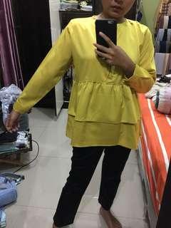 Lemon blouse
