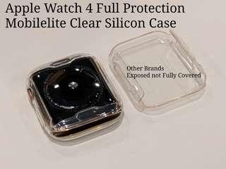 🚚 Apple Watch 4 40/44mm Clear Silicon Case