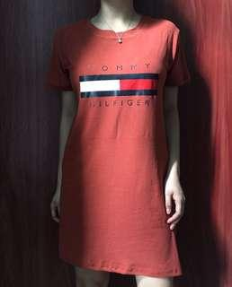 Tommy hilfiger dress / Oversized shirt