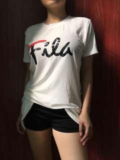 Fila dress / Oversized shirt