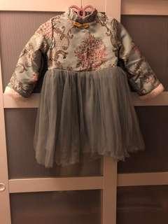 girl's CNY dress 女童新年裙