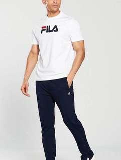 Fila Black Line Tee With Logo