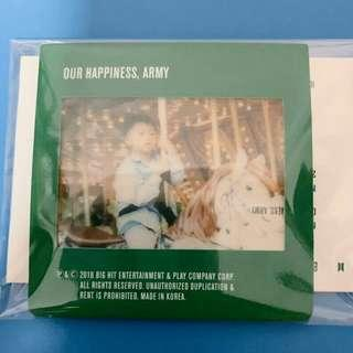 [WTT] BTS 2019 Season Greetings Jin Baby Photo