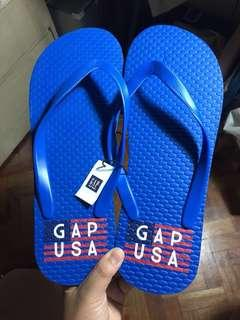 Authentic Gap Usa Blue Slippers