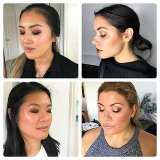 Freelance makeup services
