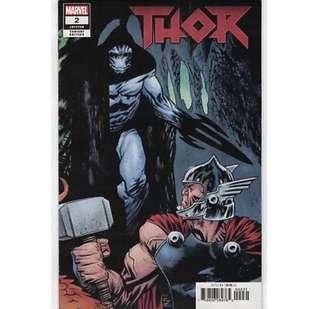 THOR #2 (2018) Retailer Incentive Variant cover