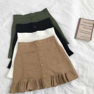 Korean Style Wavey Skirt