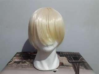 URGENT CLEARANCE Platinum Blonde Cosplay Wig