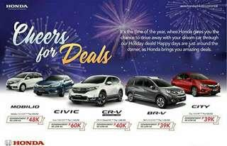 Honda Cars Auto loan