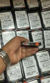 Server hdd 600gb sas 10k 2.5inch hard drive bulk fully working tested bulk Simlim