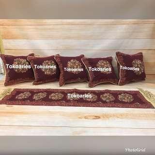 Sarung bantal kursi /sarung bantal sofa