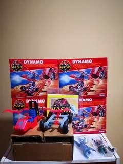 Vintage 80's M.A.S.K. Dynamo (Batch 2)