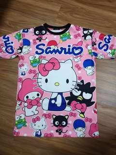Hello Kitty cartoon T-shirt
