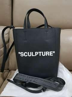 "OFF WHITE ""SCULPTURE"" BAG"