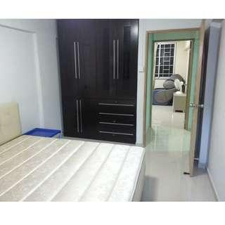 masterbed room with wifi ac and pub fully furnished $ 750 available now- whats app/call- 84830184