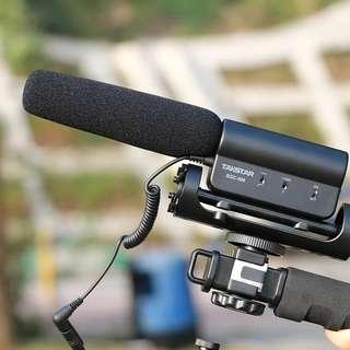 Takstar Interview Microphone for Video Filming Photography Interview Shotgun MIC
