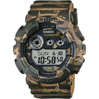 100% Authentic Casio Gshock Camo Army Military Camouflage with FREE DELIVERY 📦 GD120CM