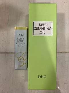 DHC Eyelash Toner & Deep Cleansing Oil (bundle Sales)