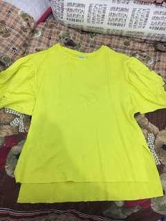 Bershka neon top