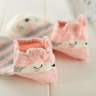 Cute korean socks (animal characters design)