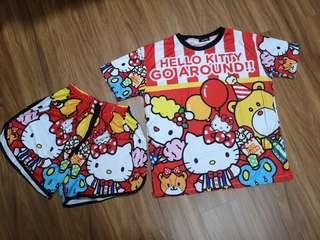 Plus size HK Hello kitty set
