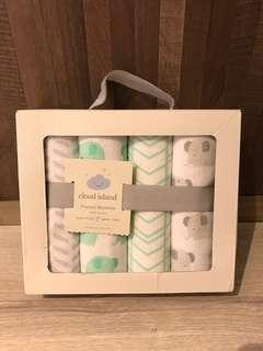 Baby Gift Set Flannel Blankets