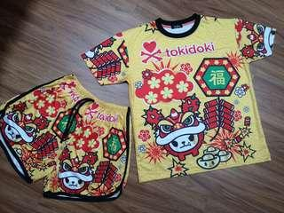 Cartoon Chinese New year set