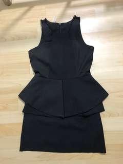 Black premium dress