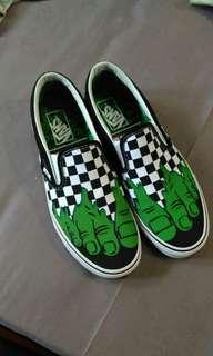 Vans Slip On Hulk Marvel NEW 1000% ORIGINAL