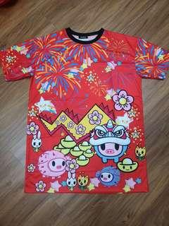 Chinese New year cartoon dress