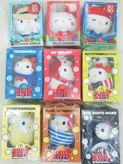 Hello Kitty Bubbly World & SG50 Collectables