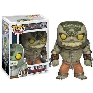 Killer Croc Funko Pop from Batman: Arkham Asylum