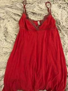 Old Navy red night gown