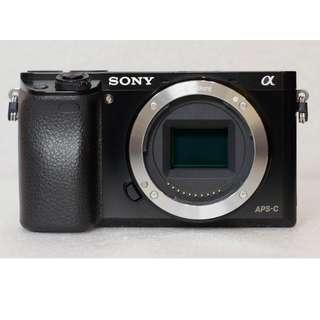 Sony A6000 Body Only Black Mulus