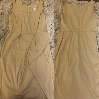 Max Mara beige dress