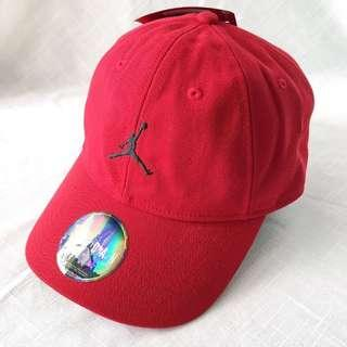 NEW! Authentic Nike Air Jordan Red Cap / Hat (One Size)
