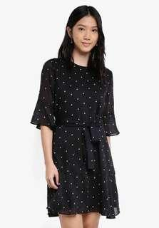 NEW Zalora Polkadot Dress