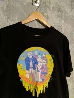Vintage 90s Anime Allied Powers Black Top